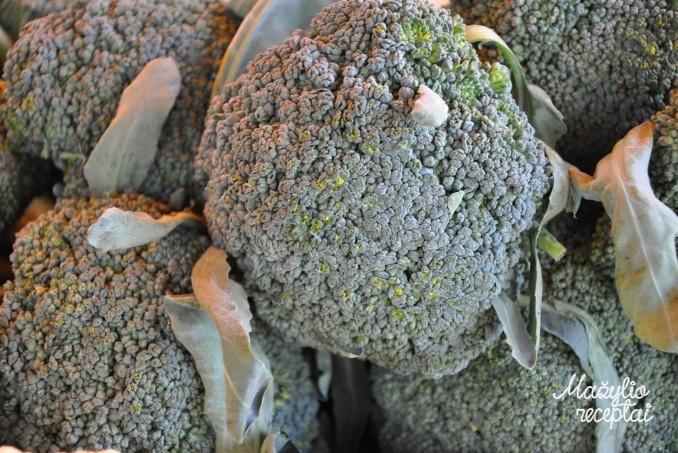 Košytė su brokoliu