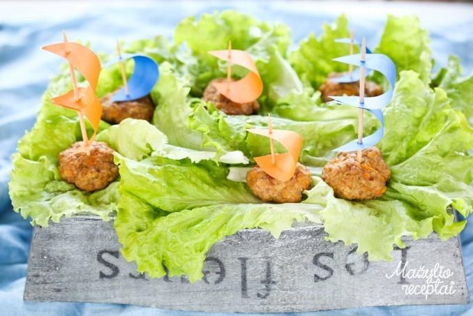 Mėsos kukulaičiai mažiesiems
