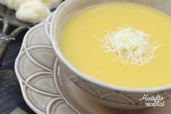 Trinta moliūgų-bulvių sriuba