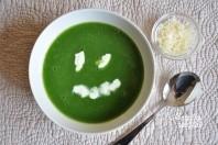 Trinta špinatų sriubytė