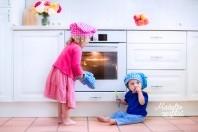 Mažylis virtuvėje!