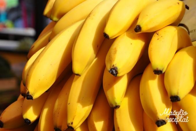 Bananai mažyliui