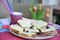 Skrebučiai pusryčiams su varške
