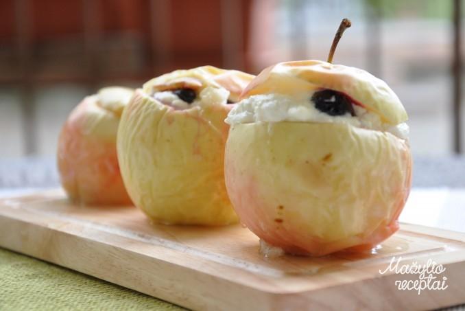Įdaryti obuoliukai su varškės įdaru