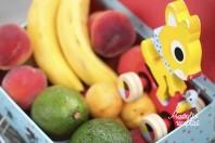 Bananų ir avokadų tyrelė mažyliui