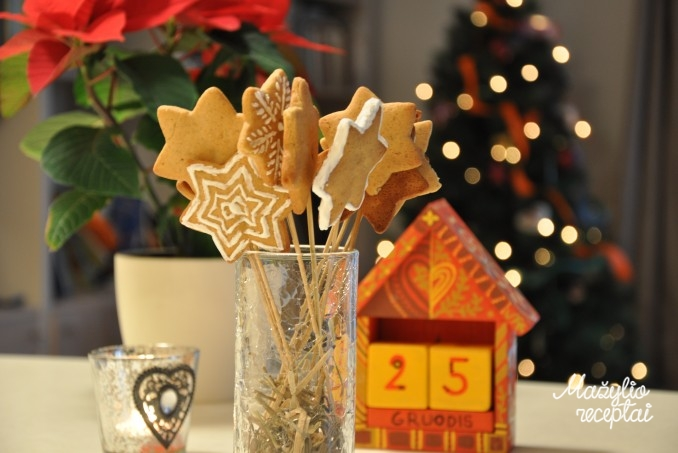 Paprasti meduoliniai sausainiai
