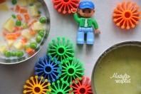 Pieniška daržovių sriubytė