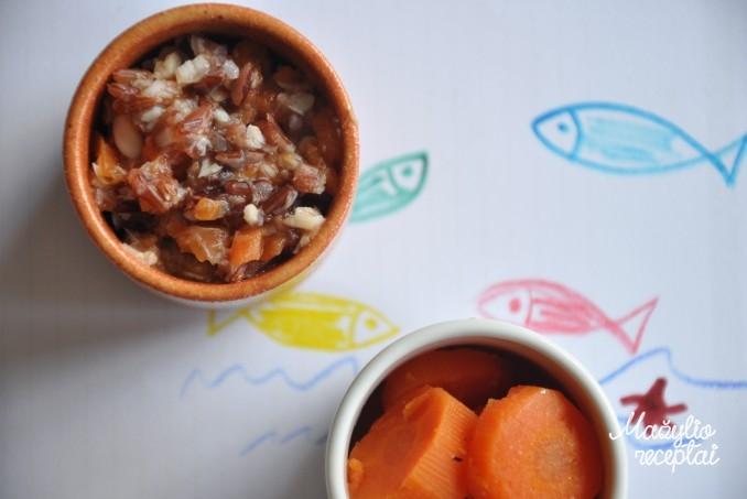 Košytė mažyliams iš ryžių ir žuvies