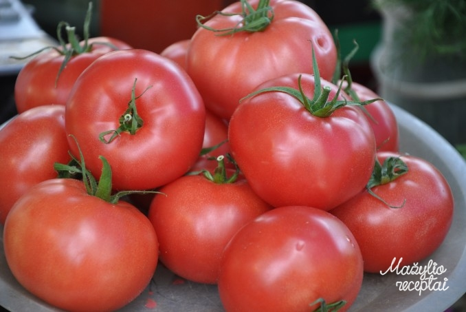 Pomidorai mažyliams