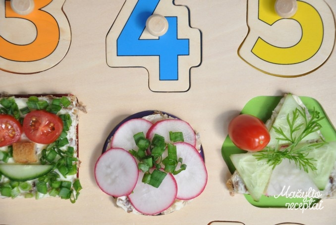 Vasara kvepiantys sumuštinukai su daržovėmis