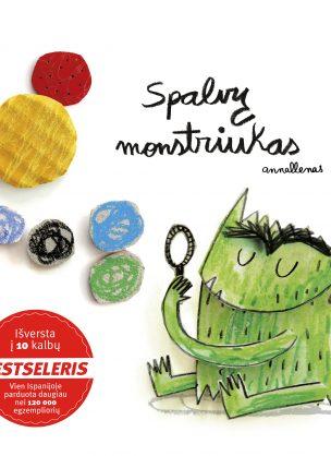 """Knyga apie jausmus vaikams """"Spalvų monstriukas"""""""